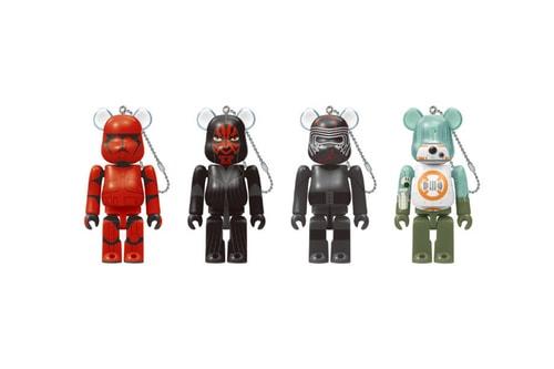 Medicom Toy Drops a 'Star Wars Saga' 100% BE@RBRICK Collection