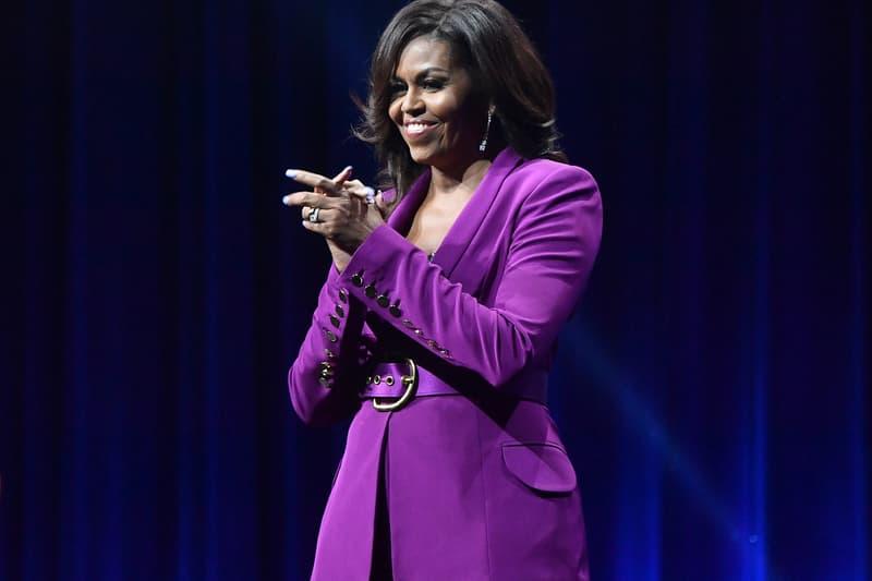 Michelle Obama 2020 Workout Playlist cardi b meek mill Nipsey Hussle music