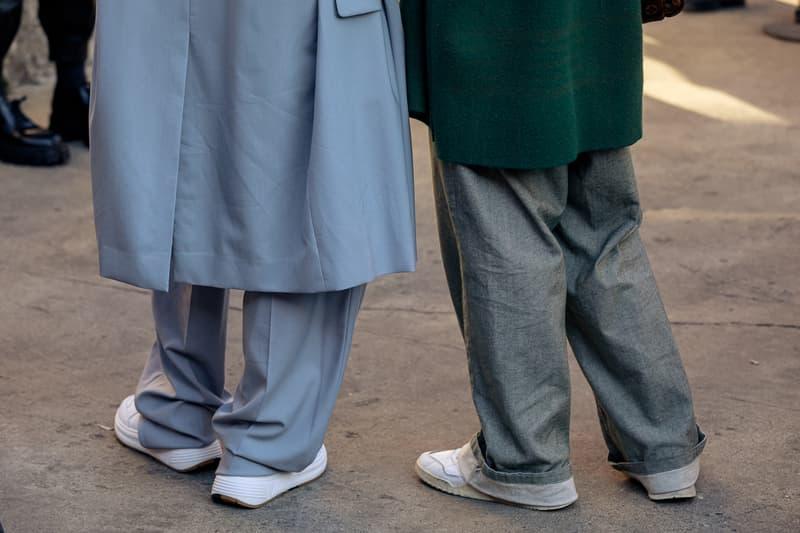 Street Style at Milan Fashion Week Fall/Winter 2020 fw20 menswear mfw snaps streetstyle