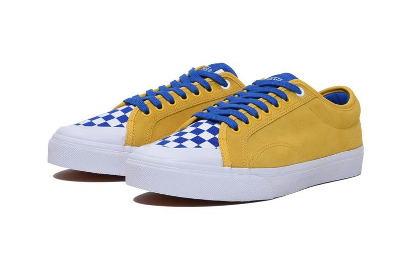 min nano vans 67 billys tokyo yellow blue white checkerboard release date info photos price clothing apparel collection colorway