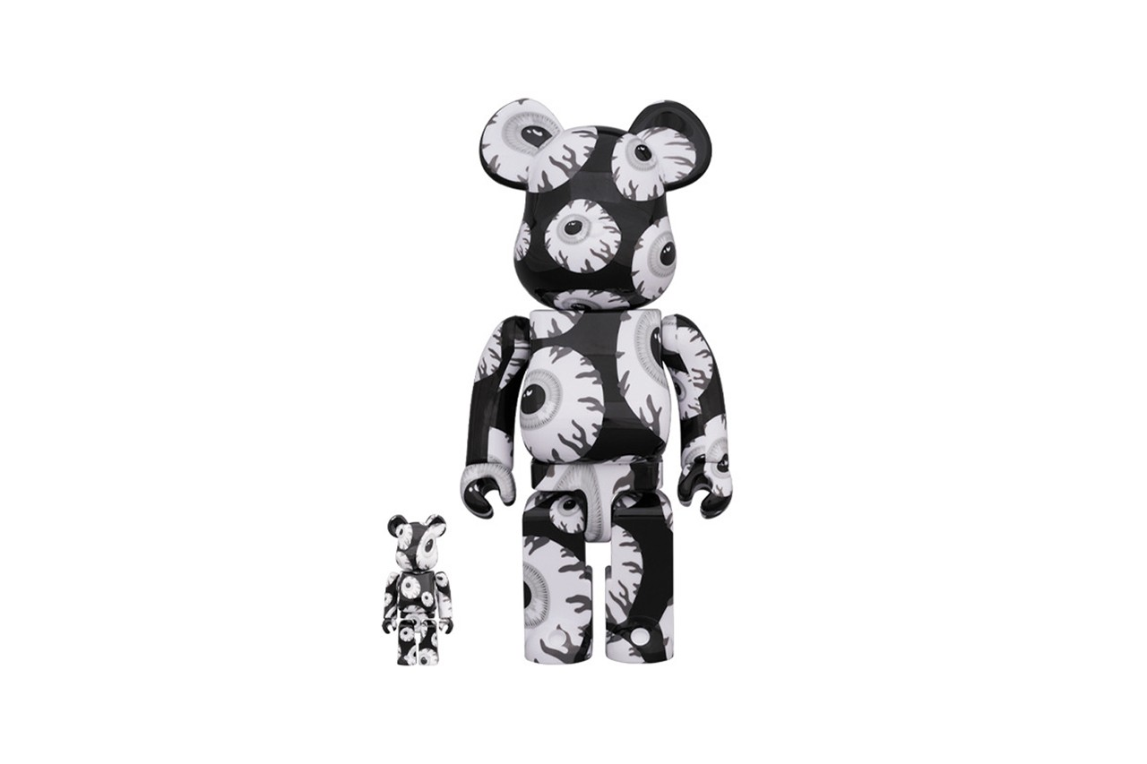 Medicom 400/% Bearbrick ~ MISHKA × LONG Be@rbrick
