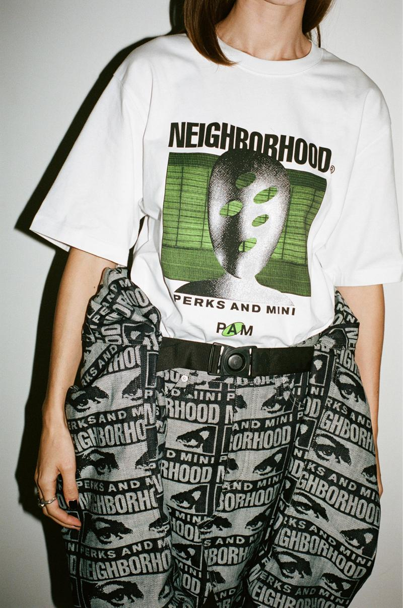 NEIGHBORHOOD Perks and Mini pam world 2020 Capsule Video Lookbook brain close brainclosed graphics collection collaborations japanese graphics interssect visuals sounds