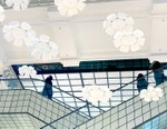 Raindrops Transform Into Flowers in nendo's Moving Installation at Le Bon Marché