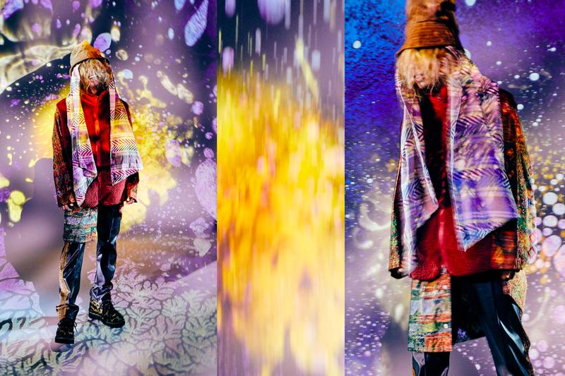 Nepenthes Spring Summer 2020 Editorial gezan japanese tokyo rock band modeled engineered garments needles keizo shimizu daiki suzuki collection liquid anthem psychedelic