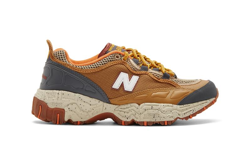 New Balance ML801NEC Trail Runner sneakers footwear shoes trainers kicks hiking abzorb duocap nubuck mesh spring summer 2020 American earthy tan chunky all terrain