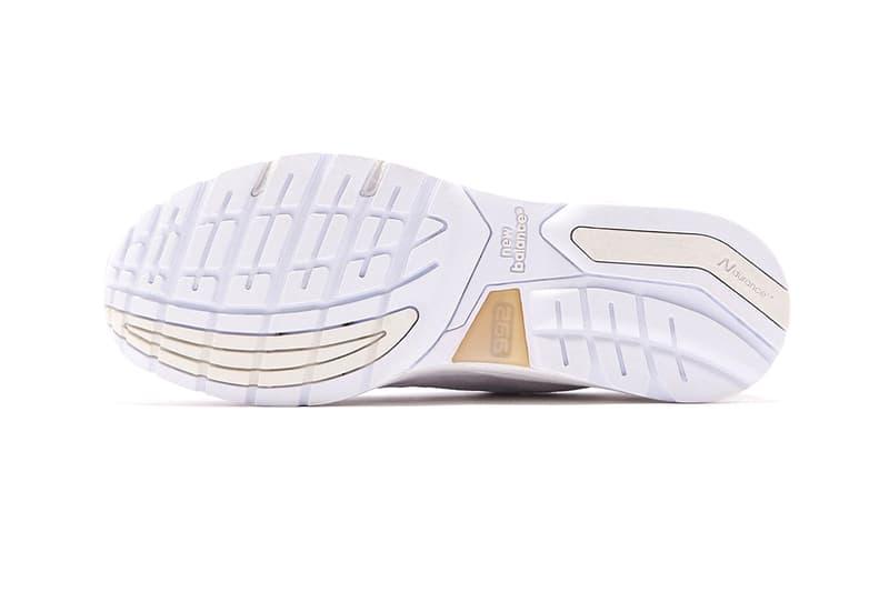 NBM992NC new balance white tonal 992 sneakers shoes kith