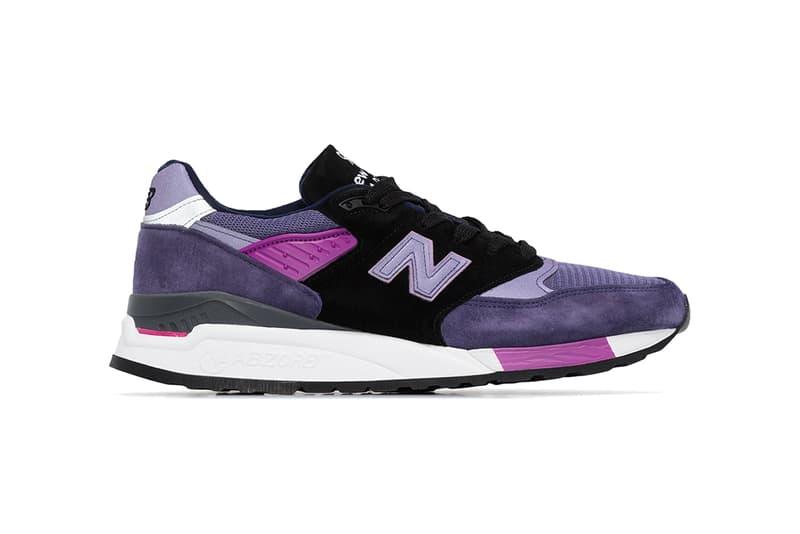 new balance 998 purple grey black release date info photos price