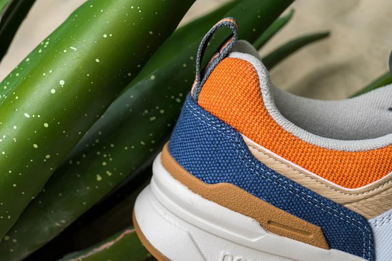 New Balance CM997HAN Slate Green Stone Blue shoes sneakers footwear runners trainers kicks Fearlessly Independent Since 1906 American ballistic nylon wood tan earth tone