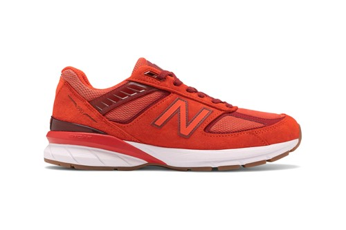 "New Balance Gives the 990v5 a Bold ""Molten Lava"" Makeover"