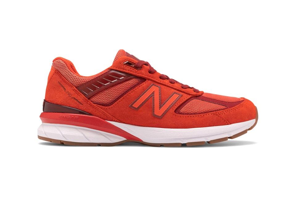 "New Balance Gives the 990v5 a Bold ""Molten Lava"" Makeover"