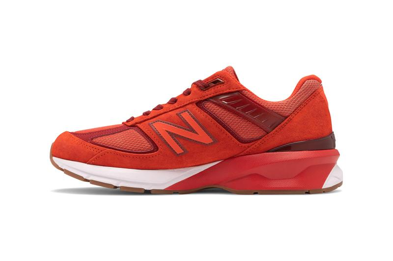 "New Balance made in US M990v5 ""Molten Lava/Fireball"" Release Info drop date price M990V5-28807 code"