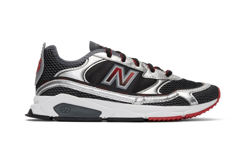 "New Balance X-Racer ""Black/Silver"" Release Information Closer Look SSENSE Footwear Sneaker Drop Retro Runner X-90 M1200 RC205 1400 ABZORB M1000"