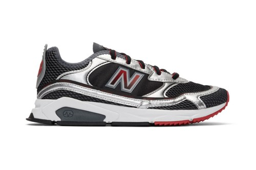 """New Balance's Retro-Tinged X-Racer Arrives in """"Black/Silver"""""""