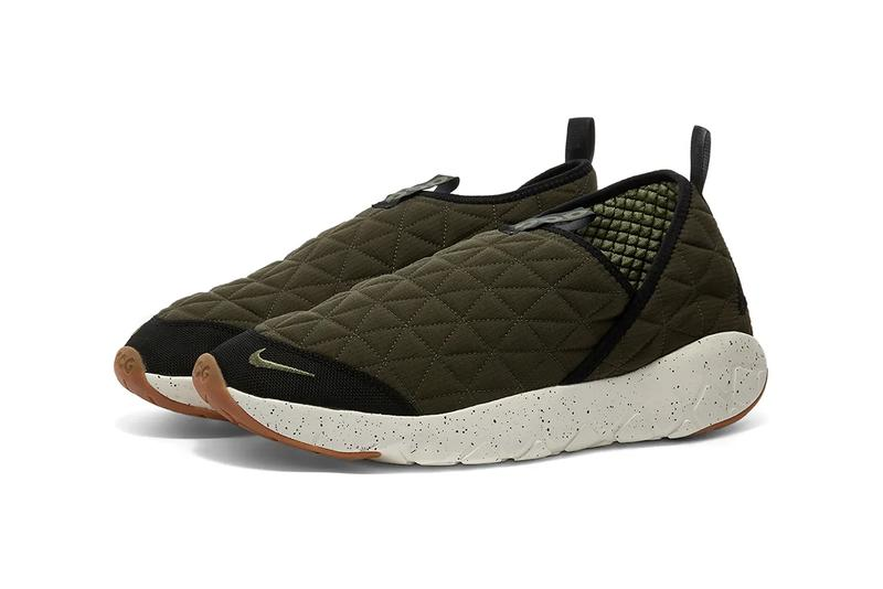nike acg moc 3.0 cargo khaki oil green release information buy cop purchase end clothing slip on functional