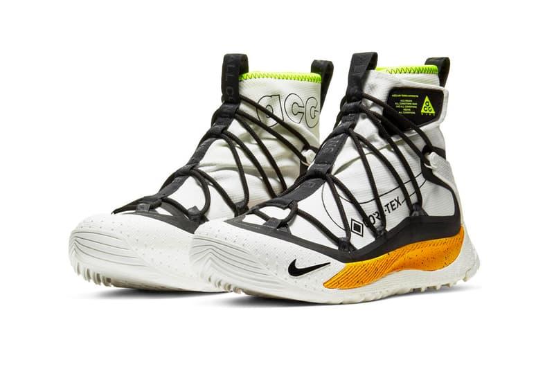 Nike ACG Zoom Terra Antarktik Official Look White Yellow Neon Green Black Orange Red Teal release Info DAte