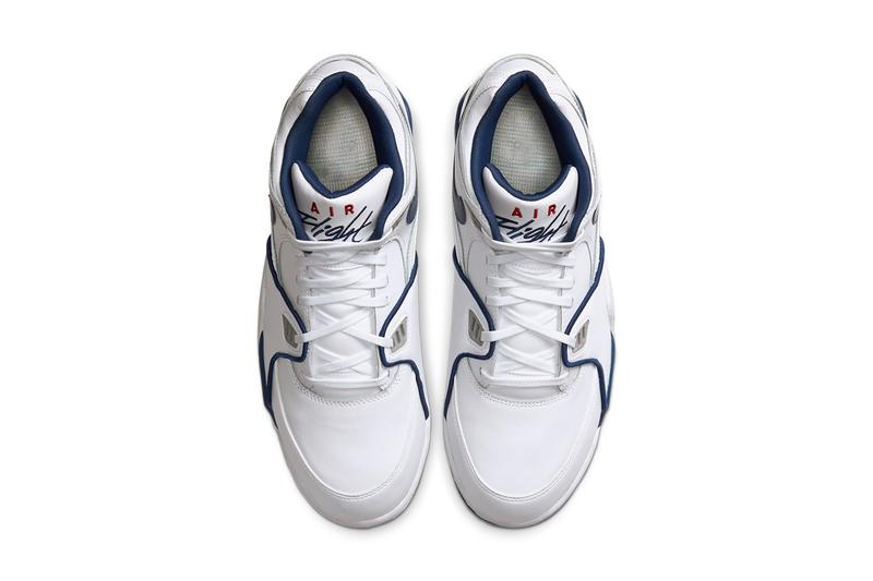 nike air flight 89 true blue white varsity red dark royal blue CN5668 101 release date info photos