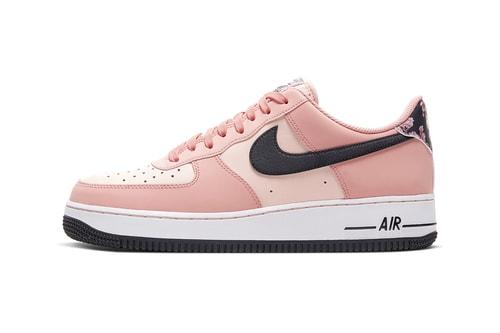 """Nike Drops Sakura-Inspired Air Force 1 '07 in """"Pink Quartz/Galactic Jade"""""""