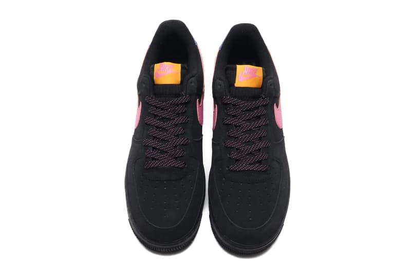 nike air force 1 low acg black magic flamingo pink persian violet purple orange cd0887 001 release date info photos price