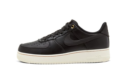 "Nike Air Force 1 ""Black Pack"" Features Wear-Away Detailing"