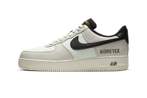 "Nike Drops Weatherized Air Force 1 GORE-TEX in ""Light Bone/Medium Olive"""
