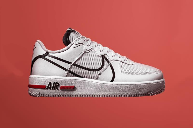 lógica físico ala  Nike Air Force 1 React D/MS/X Release Date & Info | HYPEBEAST