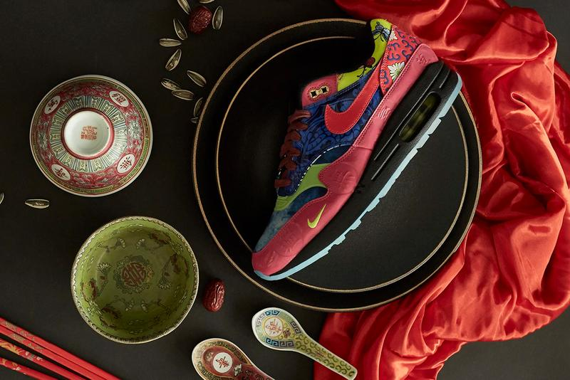 nike air max 1 premium chinese new year cny year of the rat Game Royal Laser Crimson Black Jeu Royal Noir Cramoisi Laser CU8861 460 release date info photos price