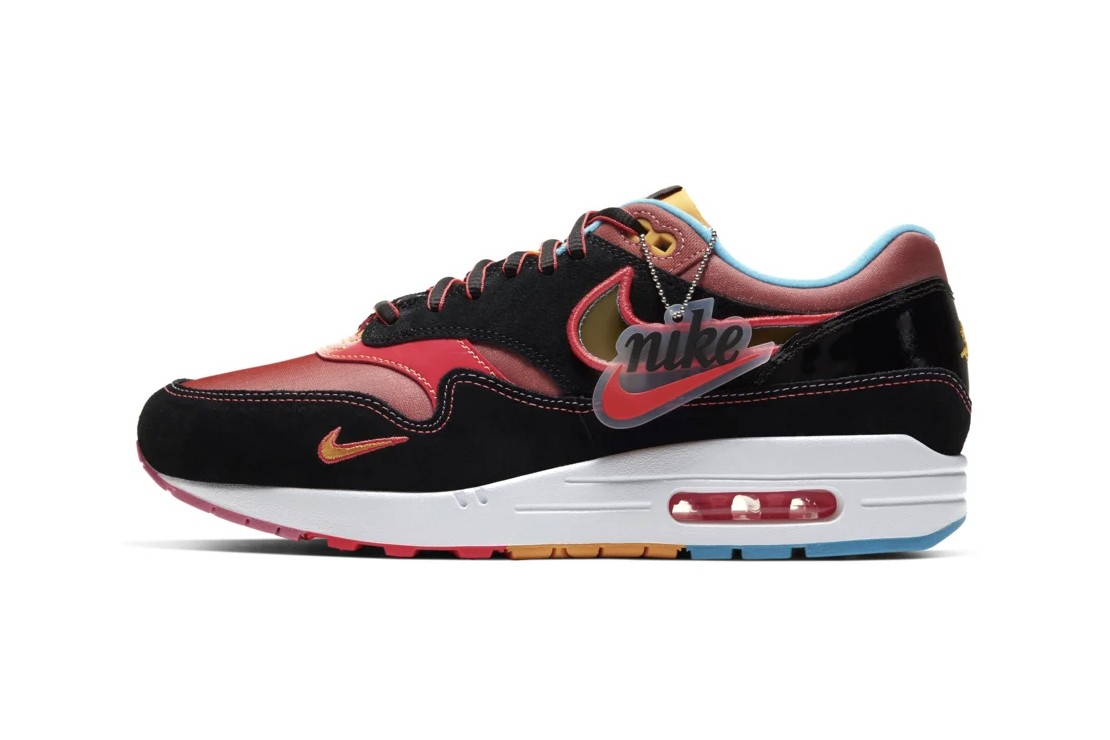red and black air max
