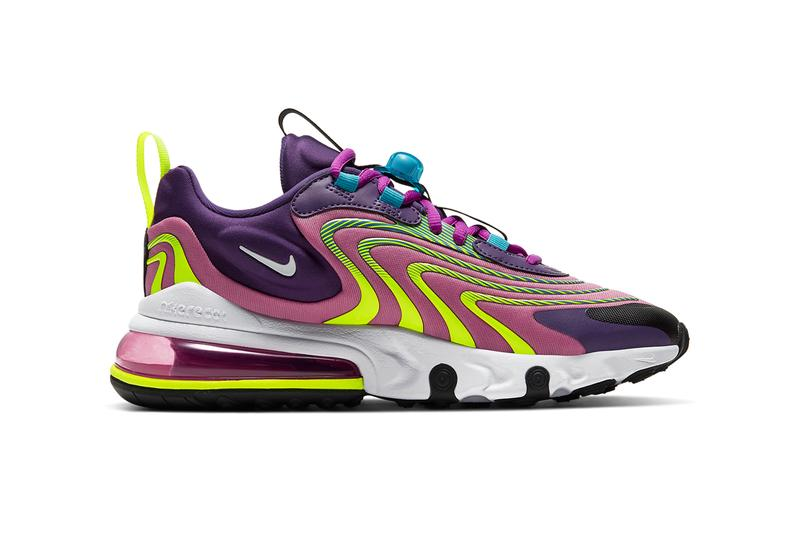 nike air max 270 react eng laser blue cd0113 400 eggplant ck2595 500 release date info photos price