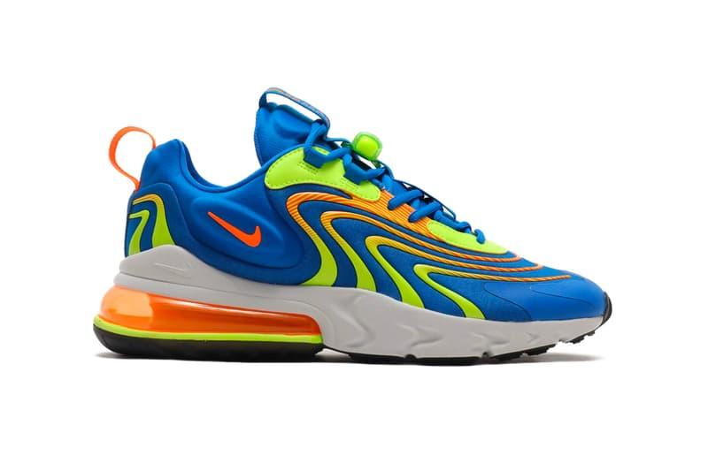 Nike Air Max 270 React Eng Laser Crimson Laser Orange Hypebeast