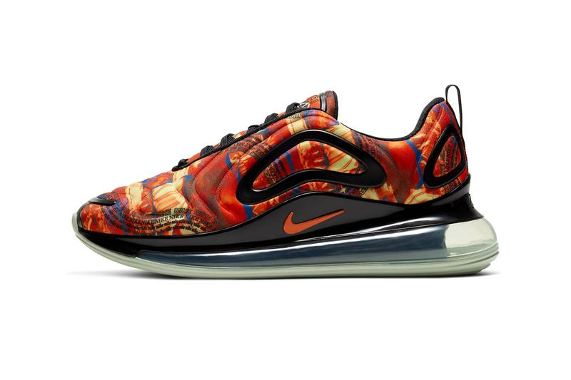 Nike Air Max 720 Multi Color Team Orange Black Pistachio Frost CU4730 900 shoes footwear sneakers air unit runners trainers kicks fall winter 2020 swoosh technical Dylan Raasch Jesi Small