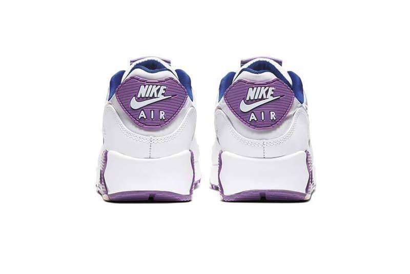 "Nike Air Max 90 SE ""White/Multi Color/Purple Nebula"" Easter Pack CJ0623-100 Release Information Seasonal Footwear Drops Kicks Swoosh AM90 OG"