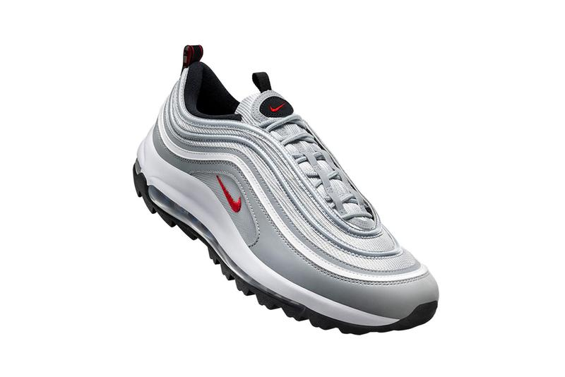 nike air max 97 g golf silver bullet release date info photos price