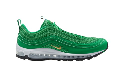 """The Nike Air Max 97 Receives a """"Lucky Green"""" Makeover"""