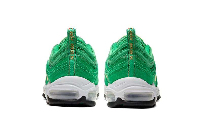 nike air max 97 olympic rings pack white metallic gold black photo blue amarillo lucky green challenge red CI3708 001 400 800 700 300 release date info photos price