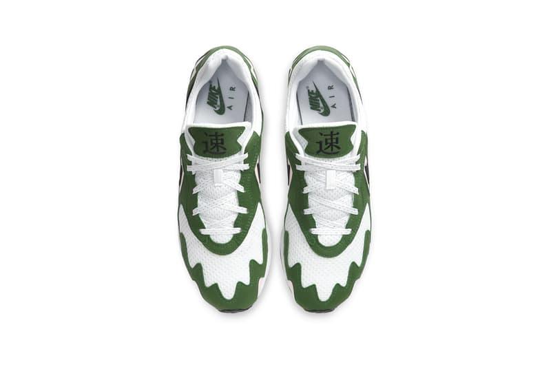 "Nike Air Streak Lite ""Aloe Verde/White/Arctic Punch/Black"" ""Black/Dark Grey/White/Wolf Grey"" ""Summit White/White/Persian Violet/Metallic Gold"" Sneaker Release Information New Colors Retro OG Runner Swoosh Brand Japanese creation team in 1995"