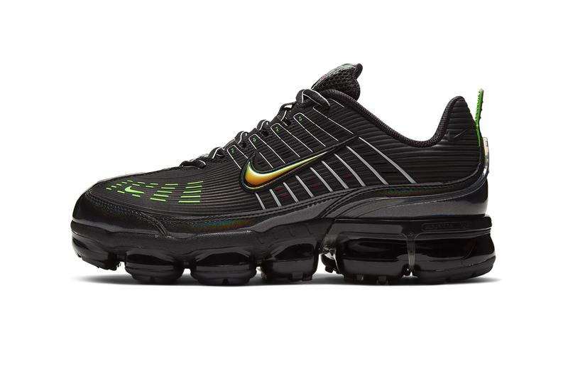 Nike Air VaporMax 360 Black off noir CK2718 003 runners sneakers footwear shoes kicks trainers Green strike Pink blast iridescent CK2718 003 swoosh fall winter 2020 1990s style