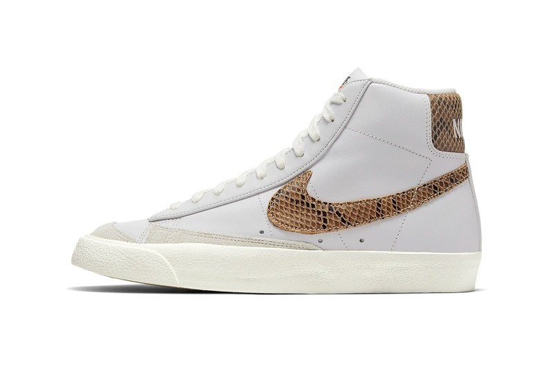 Nike Gives Its Blazer Mid '77 Vintage a New Snakeskin Makeover
