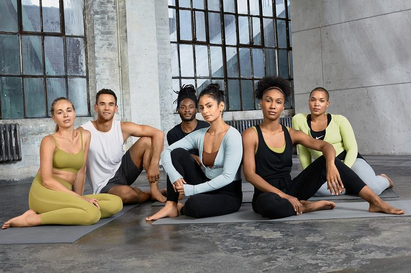 nike sports yoga collection apparel clothing infinalon technology fabric
