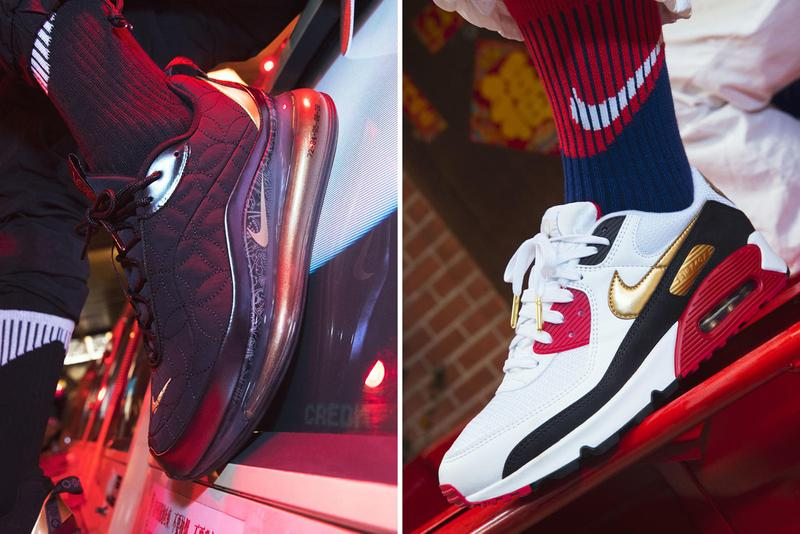 nike sportswear jordan brand chinese new year cny of the rat collection air max 1 air max 90 air force 1 air max 720 air jordan 13 air jordan 34 kyrie 6