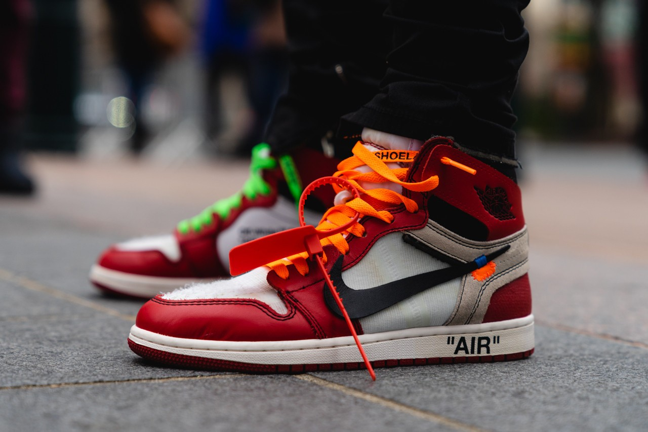 Nike, Louis Vuitton Footwear