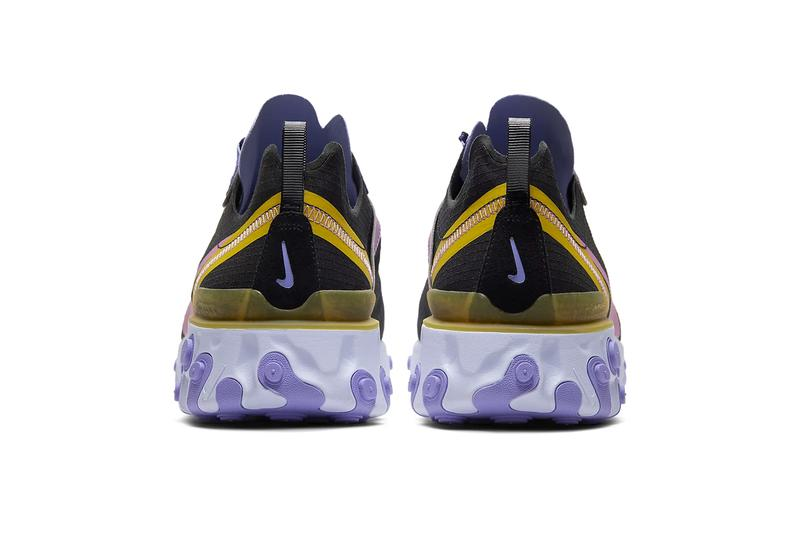 Nike React Element 55 ACG Inspired Hike Man Release CI9593-001 CI9593-002 Info Buy Price Black Light Thistle Pollen Rise Magic Flamingo Mineral Teal Voltage Purple Pollen Rise