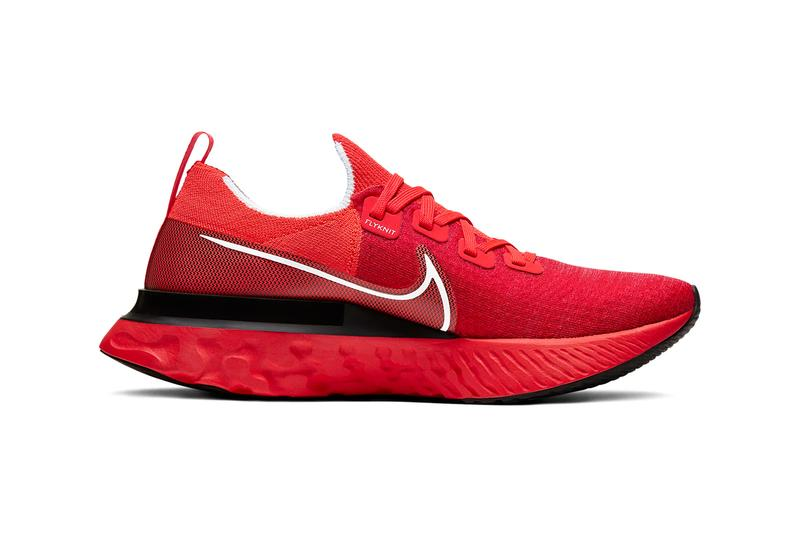 Nike React Infinity Run Flyknit Bright Crimson Black Infrared White Release CD4371-600