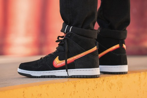 "Nike Adds '70s RV Decals & Sunset Hues to Dunk High Pro ""Truck It"""