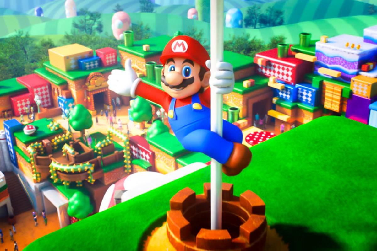 A Nintendo Theme Park is Officially Coming to Universal Orlando