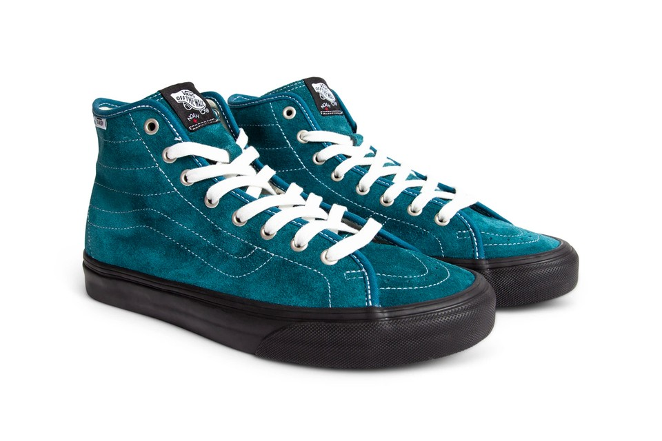 NOAH & Vans Revamp Sk8-Hi Decon in Two Bold Colorways