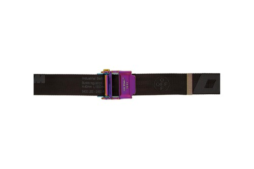 An Iridescent Buckle Accents Off-White™'s Latest 2.0 Industrial Belt