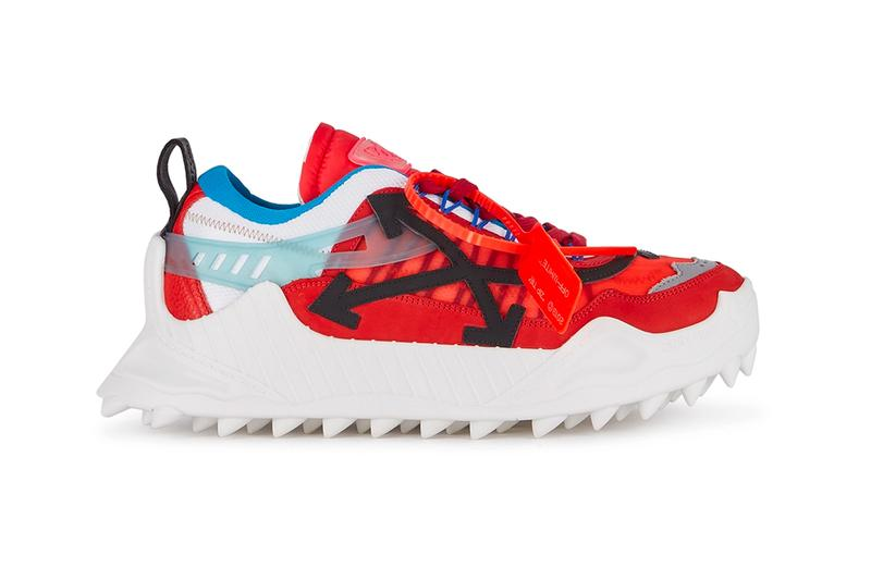 Off White ODSY 1000 Sneaker Red White black virgil abloh chinese new year lunar holiday sneakers shoes footwear kicks trainers runners kicks spring summer 2020 designer 786931