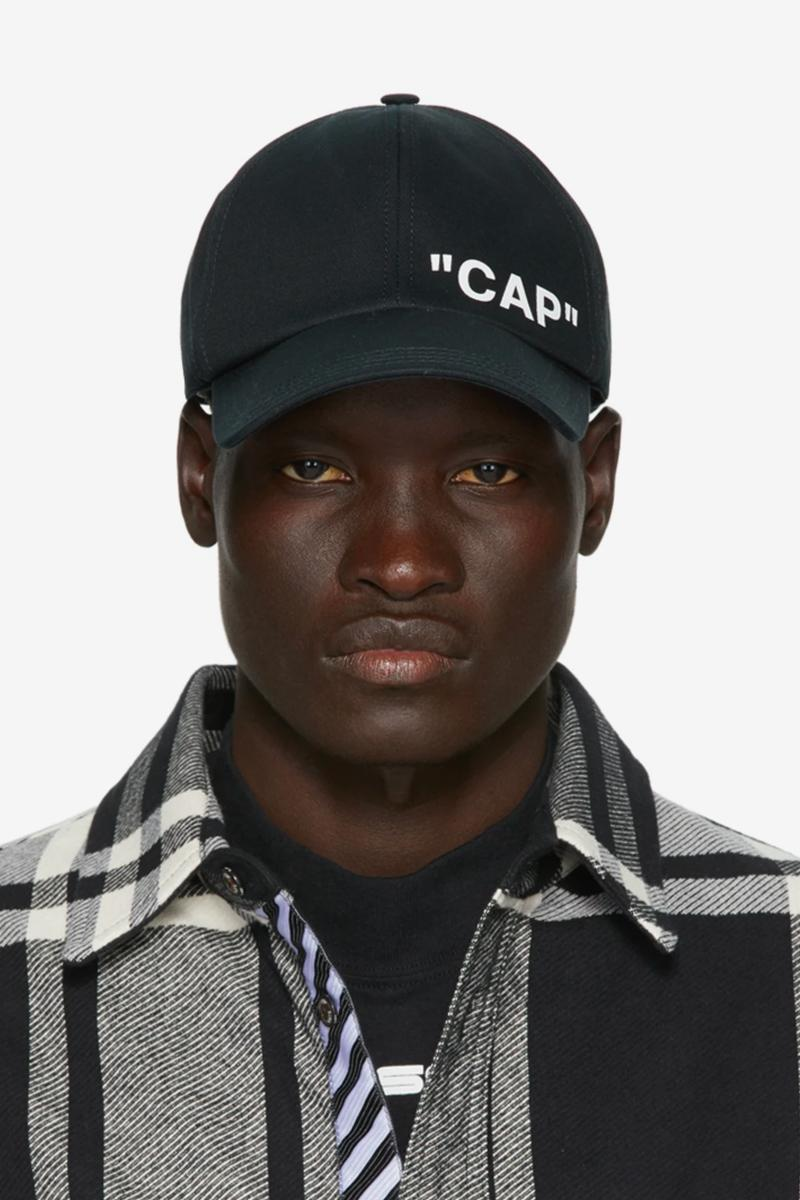 Off-White™ SSENSE Exclusive Quote Baseball Cap Release info Buy Price