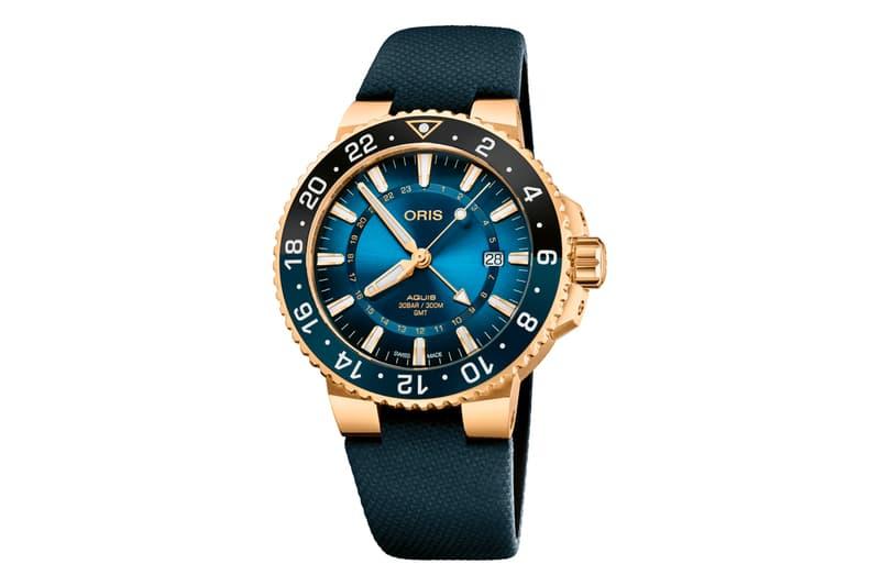 oris carysfort reef limited edition aquis watches timepiece accessories florida coral restoration foundation