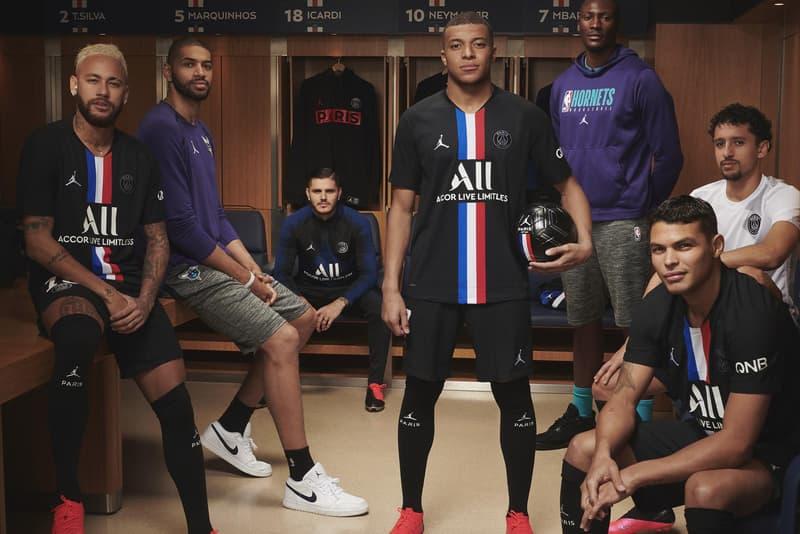 Paris Saint Germain Jordan brand 2019 2020 fourth kit release information black white red blue aerospace 720 react havoc se buy cop purchase